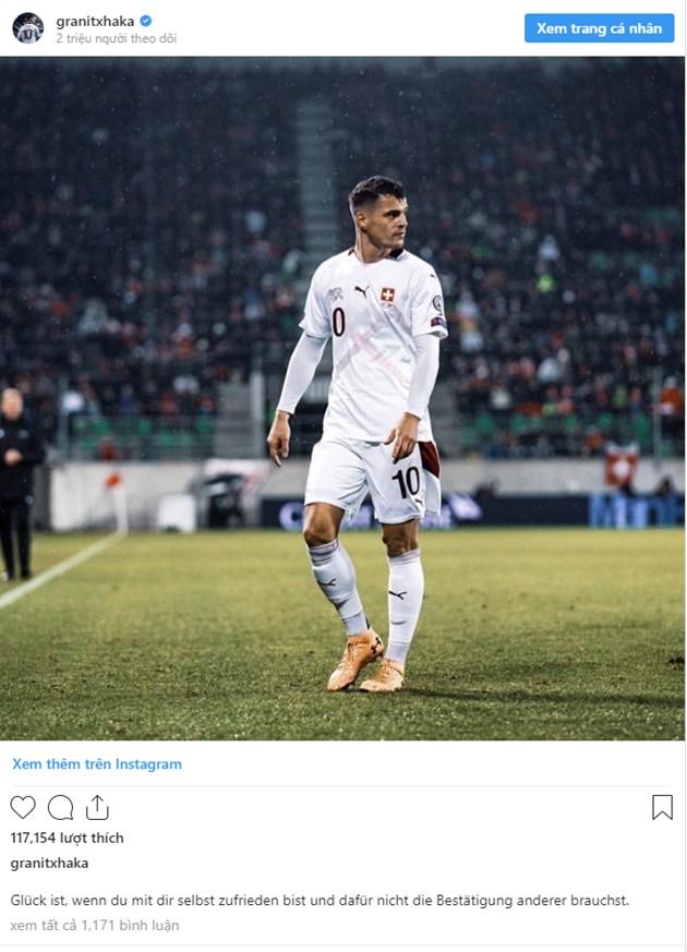 Xhaka tiếp tục cà khịa NHM Arsenal, ngày rời Emirates không còn xa - Bóng Đá