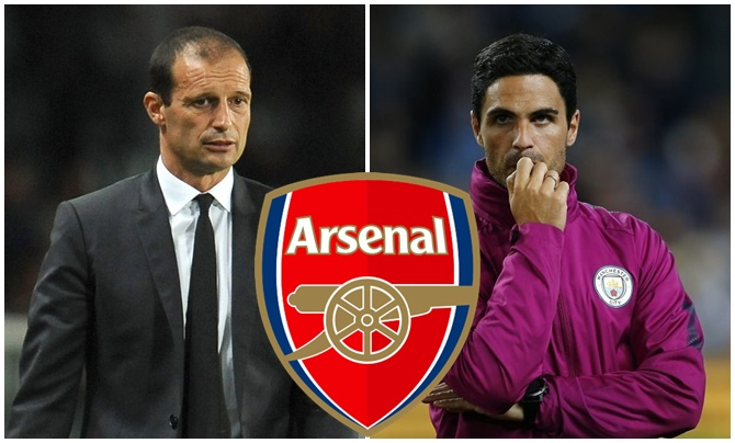 Arsenal bắt đầu săn lùng cuộc sống sau Emery: Arteta and Allegri - Bóng Đá