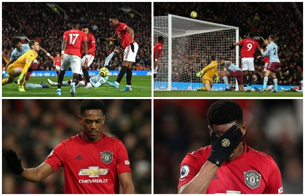 Martial cúi gầm mặt, tự chất vấn vì ném đi '3 điểm' của Man Utd - Bóng Đá