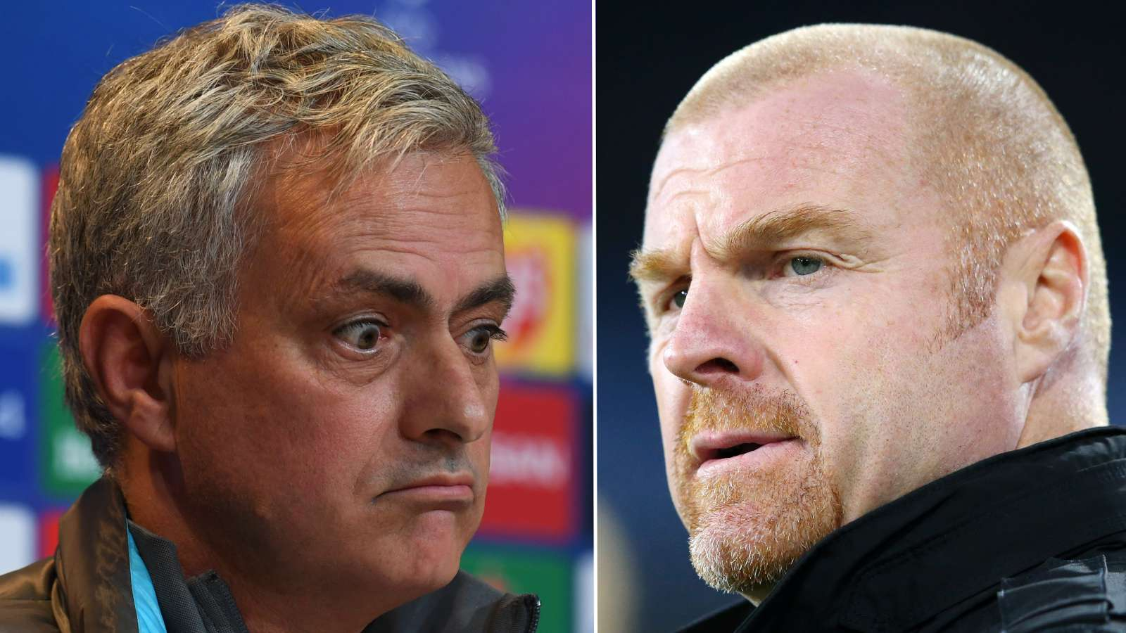 'His face was more shocked than mine!' - Mourinho in hilarious run-in with Burnley boss Dyche - Bóng Đá