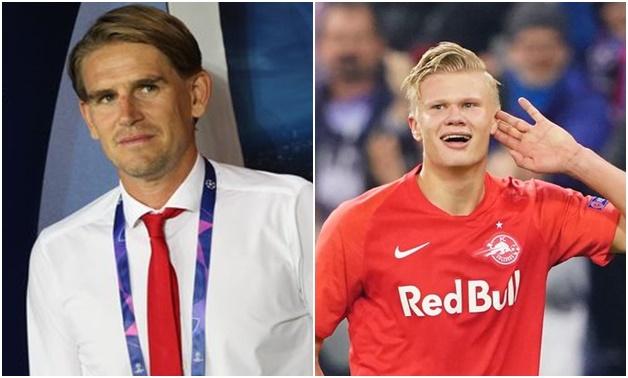 Erling Haaland to Man Utd transfer declaration made by Salzburg sporting director - Bóng Đá