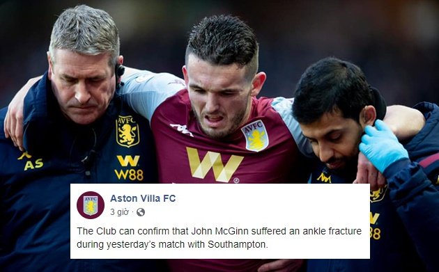 John McGinn: Aston Villa & Scotland midfielder fractures ankle - Bóng Đá