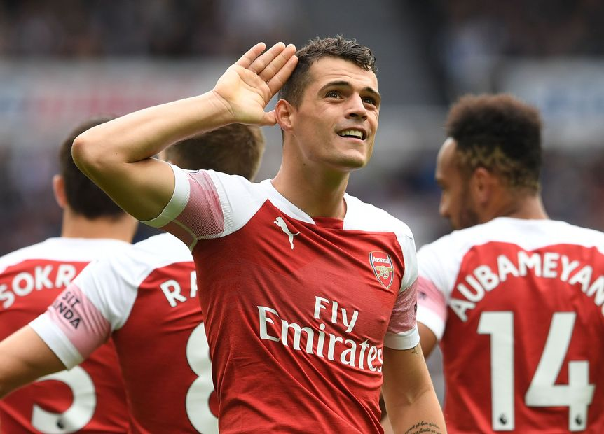 Granit Xhaka's agent confirms midfielder 'wants Arsenal exit' and has agreed Hertha Berlin transfer - Bóng Đá