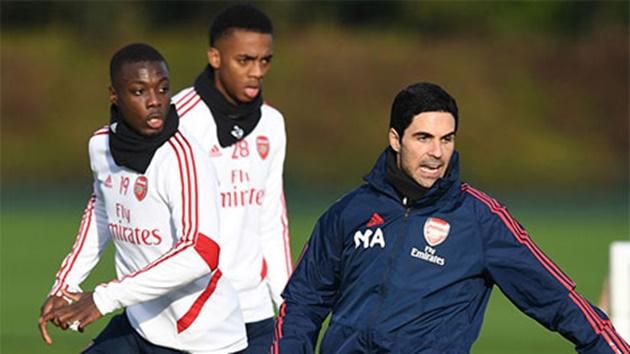 Mikel Arteta explains why Unai Emery failed to get the best out of Nicolas Pepe - Bóng Đá