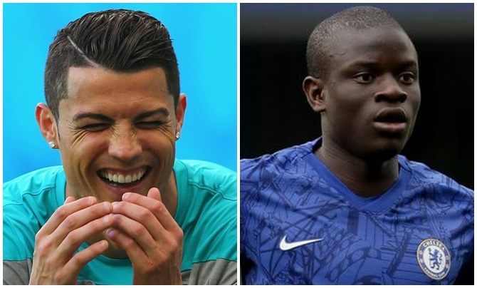 UEFA removed N'Golo Kante from their Team of the Year to fit in Cristiano Ronaldo - Bóng Đá