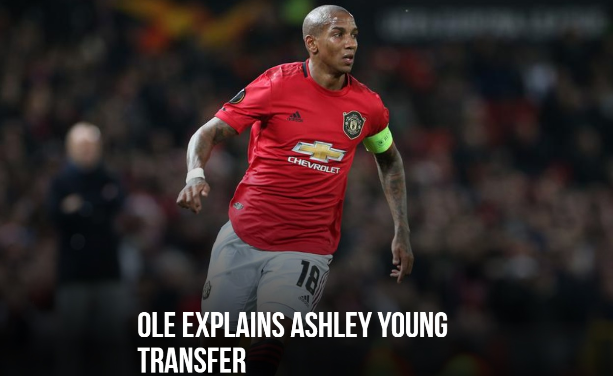 Ole has confirmed that Ashley Young is on the brink of signing for Inter Milan. - Bóng Đá
