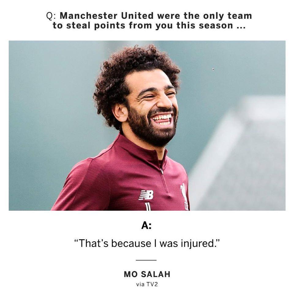 Salah đá đểu Man Utd - Bóng Đá