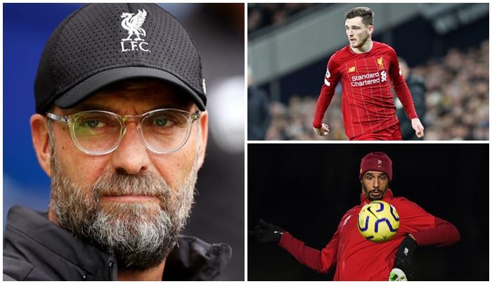 Jurgen Klopp says no club wanted Liverpool duo matip and robertson - Bóng Đá