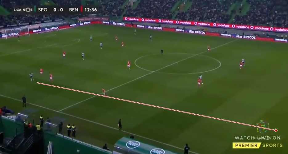 'KANTE, DE BRUYNE AND POGBA COMBINED' Man Utd fans purr over Bruno Fernandes as he showcases skill in Lisbon derby with stunning pass - Bóng Đá
