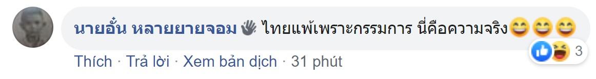 Đội nhà thua đau, NHM Thái Lan cay cú