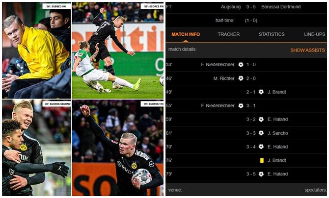 Cay đắng! Tiếc tiền, Man Utd đau đớn nhìn Haaland giã nát đối thủ ở Bundesliga - Bóng Đá