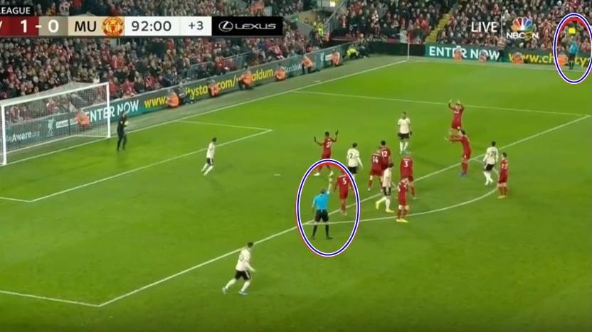 Bàn thắng của Salah vào lưới Man Utd là 'không hợp lệ'? - Bóng Đá