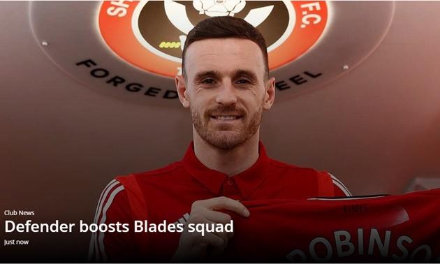 CHÍNH THỨC: Sheffield đón cựu sao Liverpool, sẵn sàng lật Man Utd & Chelsea - Bóng Đá
