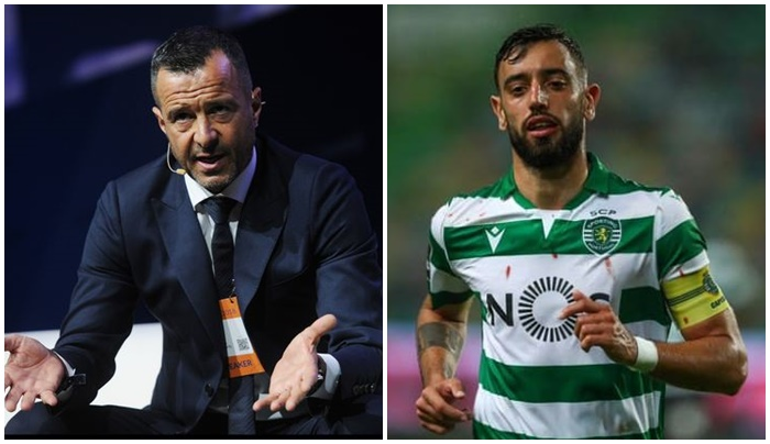 No guarantees Bruno Fernandes will join Man Utd as Jorge Mendes reveals Sporting have spoken with other clubs - Bóng Đá