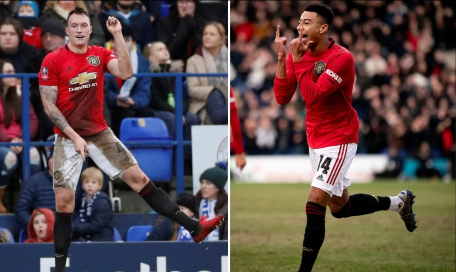 Man Utd fans in heaven as Jones and Lingard end epic goal droughts in Tranmere FA Cup blitz - Bóng Đá