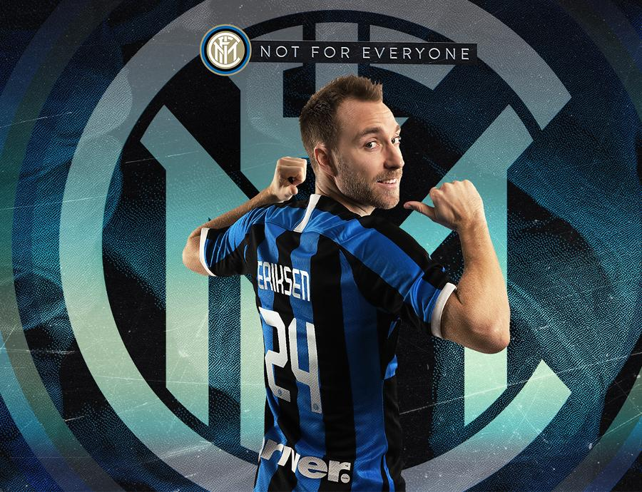 CHÍNH THỨC: Eriksen gia nhập Inter Milan, khoác số áo cựu sao Man Utd - Bóng Đá