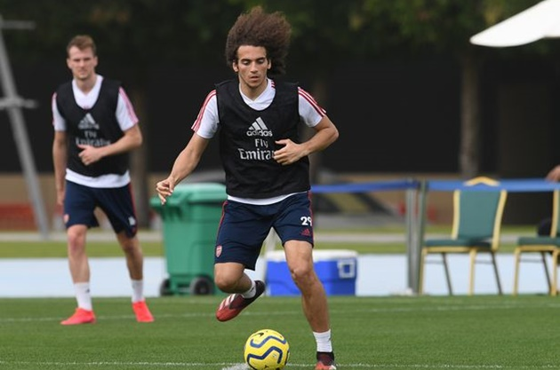 Matteo Guendouzi fighting for Arsenal future after Mikel Arteta warning - Bóng Đá
