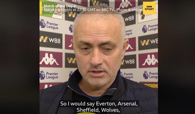 Tottenham thắng may mắn, Mourinho tiếp tục 'cà khịa' Man Utd - Bóng Đá
