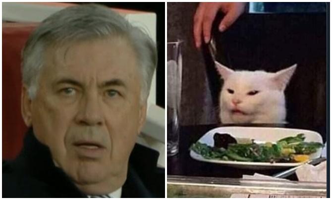 Arsenal ghi bàn siêu nhanh, Ancelotti hóa chú mèo 'Smudgei' - Bóng Đá