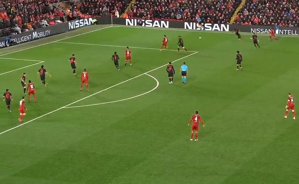 11 cầu thủ Atletico Madrid không thể ngăn Liverpool ghi bàn - Bóng Đá