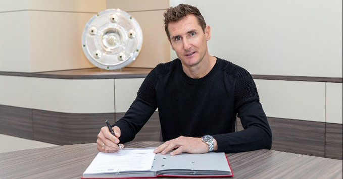 Official: Miroslav Klose will be the new assistant coach of Hansi Flick at FC Bayern - Bóng Đá