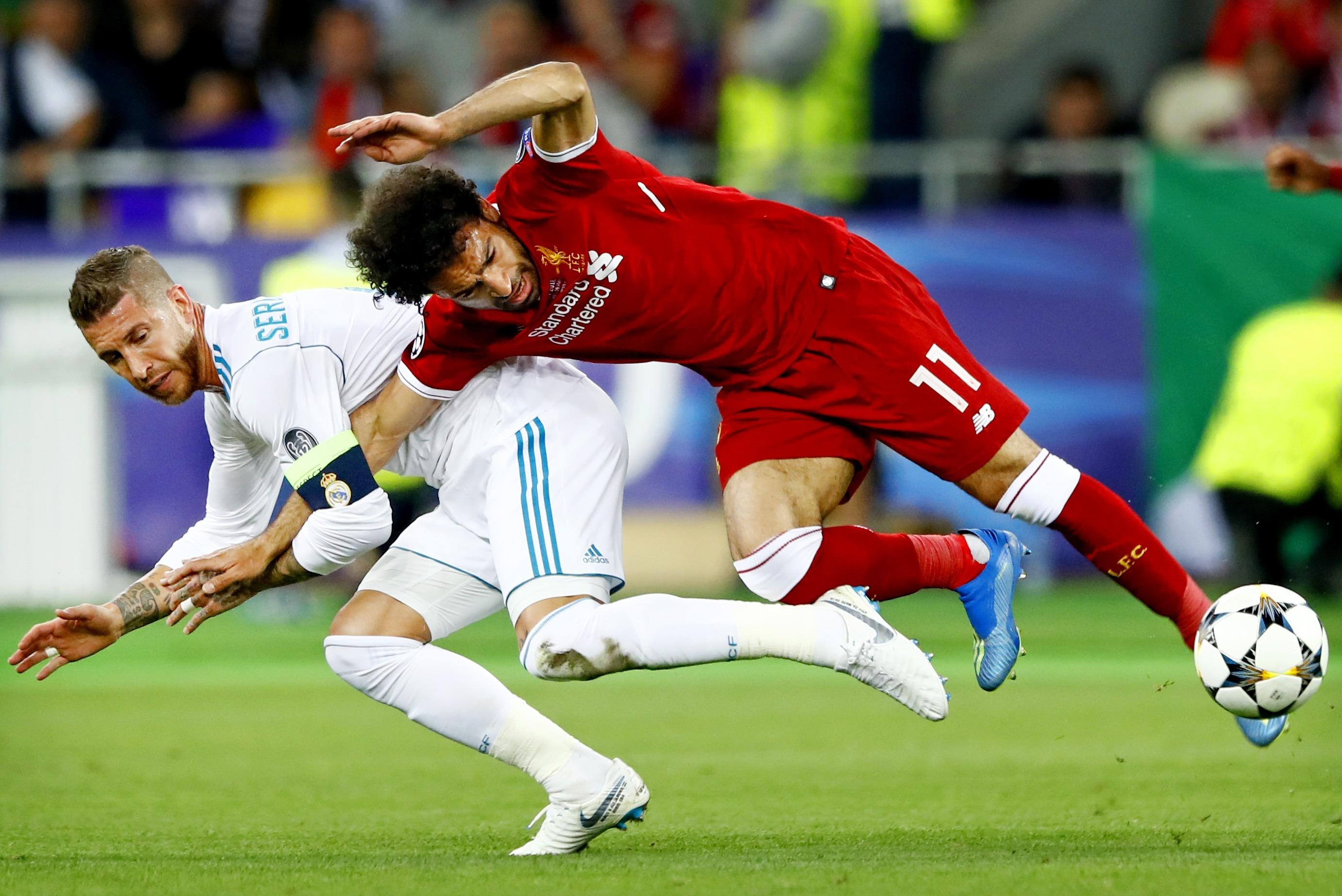 Injuring Salah in Champions League final was a Ramos masterstroke - Chiellini - Bóng Đá