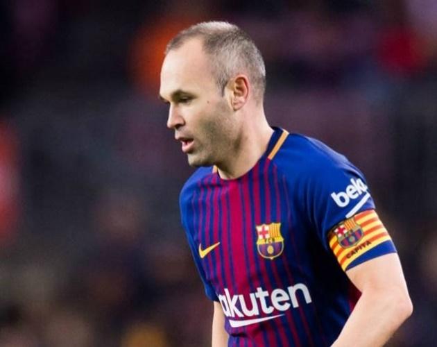 Iniesta sẽ chia tay đội tuyển Tây Ban Nha sau World Cup 2018 - Bóng Đá