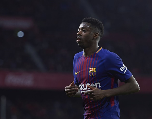 'Barca sẽ mắc sai lầm lớn nếu bán Dembele' - Bóng Đá