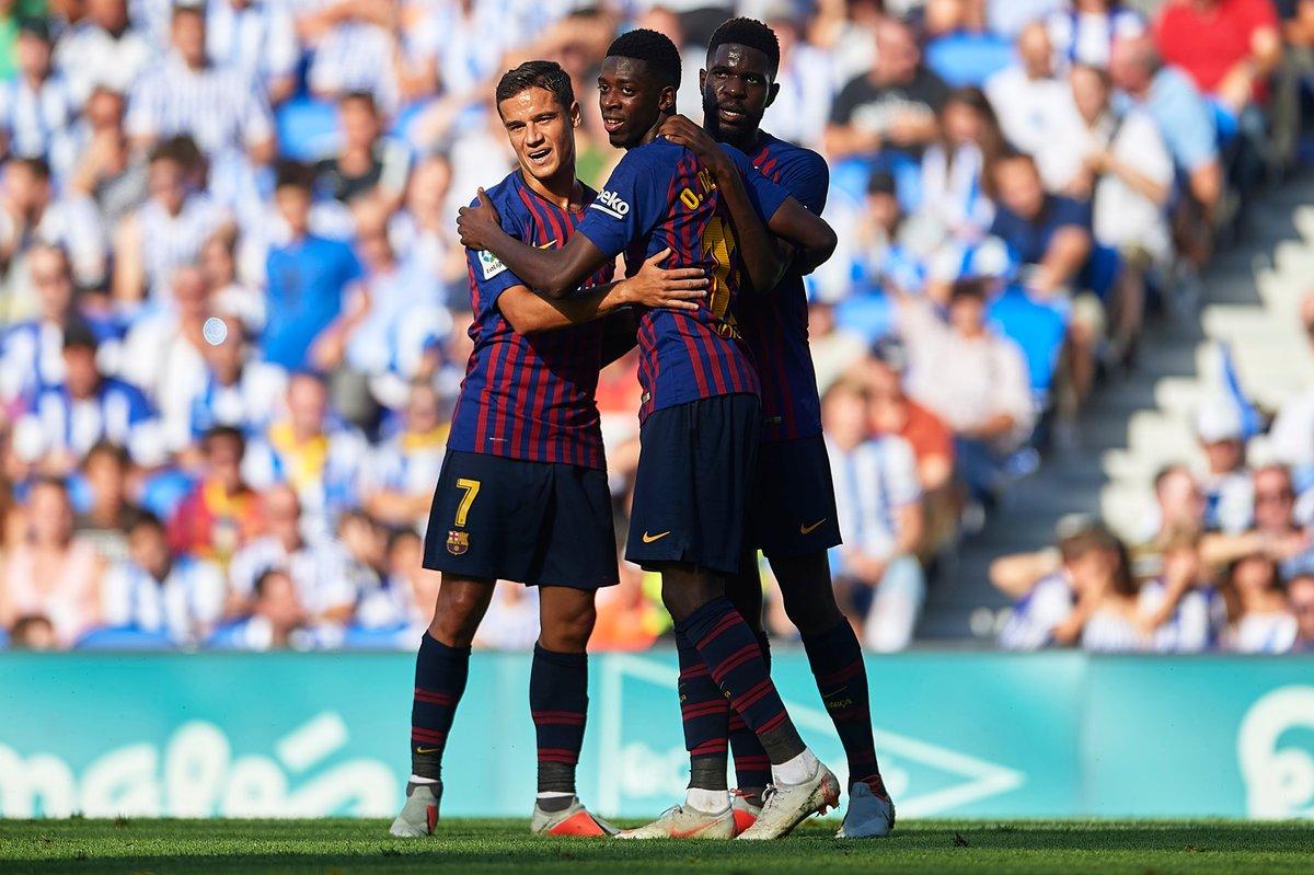 Sociedad 1-2 Barcelona - Bóng Đá