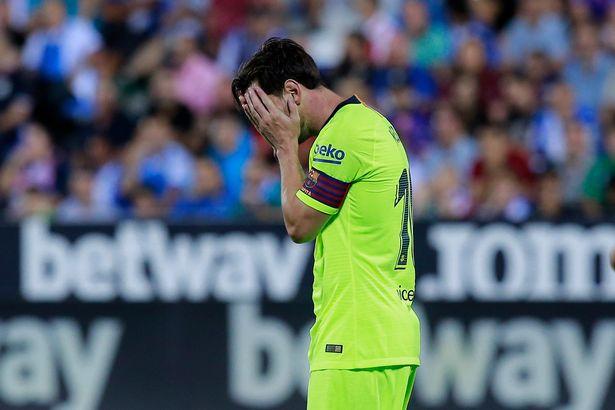 5 điểm nhấn Leganes 2-1 Barcelona: - Bóng Đá