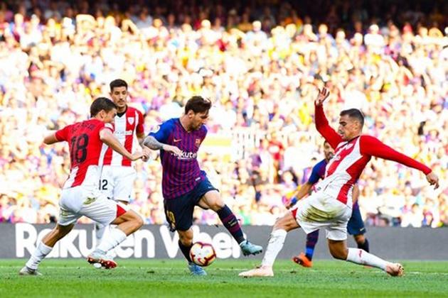 5 điểm nhấn Barcelona 1-1 Athletic Bilbao: - Bóng Đá