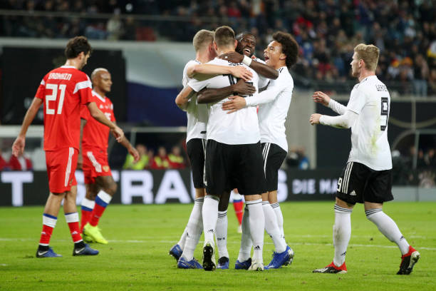 Điểm nhấn Đức 3-0 Nga: - Bóng Đá