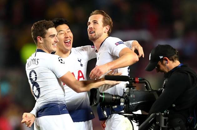 Điểm nhấn Barca 1-1 Tottenham: - Bóng Đá