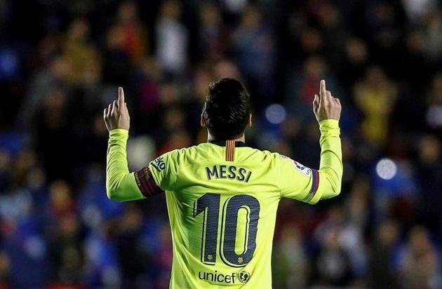 Điểm nhấn Levante vs Barca: - Bóng Đá