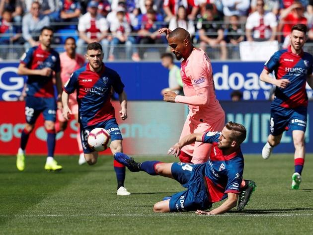 Điểm nhất Huesca 0-0 Barca:  - Bóng Đá
