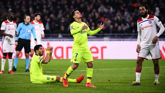 CN: Barcelona are bracing for an approach from Chelsea for Philippe Coutinho - Bóng Đá