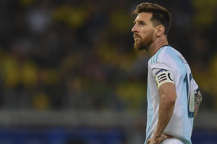 Messi facing possible two year ban for CONMEBOL corruption comments - Bóng Đá