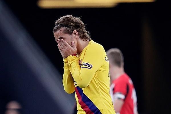Barca thất bại trước Bilbao.