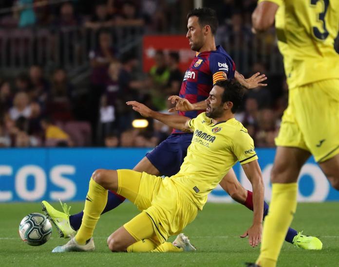 Điểm nhấn Barcelona Villarreal: - Bóng Đá
