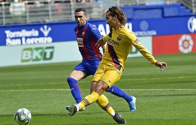 Điểm nhấn Eibar Barcelona: - Bóng Đá