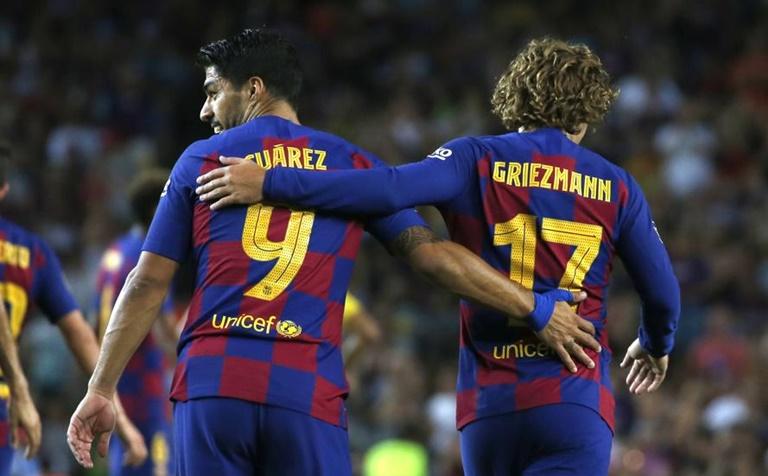 Griezman rời Barca - Bóng Đá