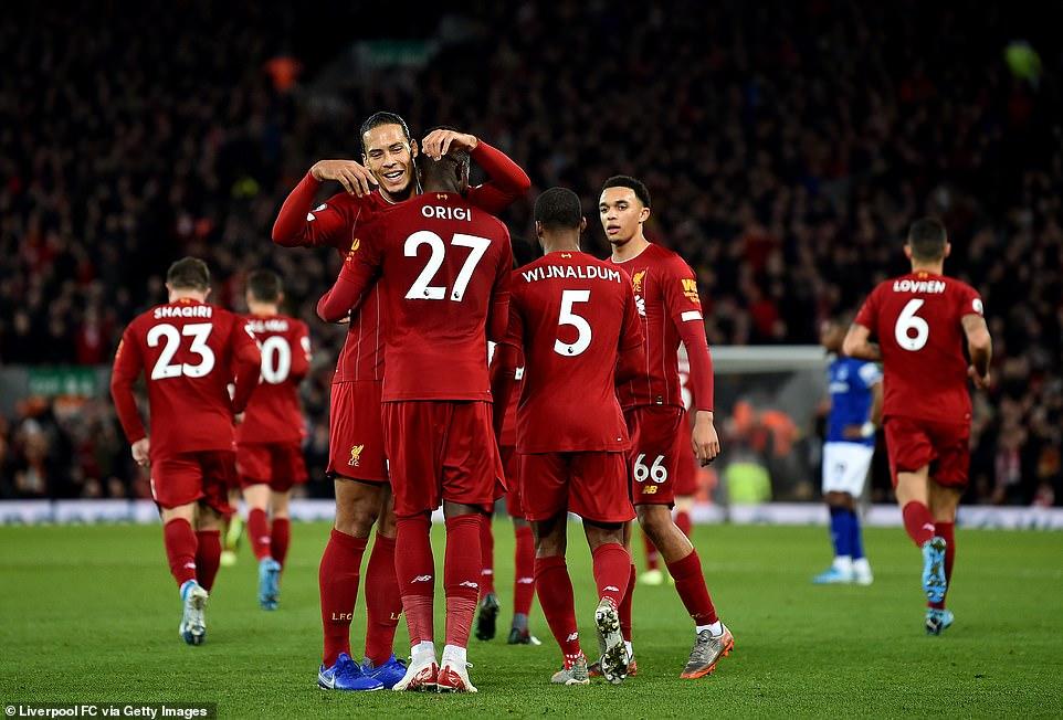 Điểm nhấn Liverpool Everton: - Bóng Đá