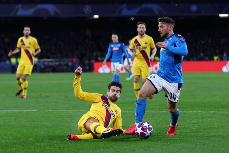 Điểm nhấn Napoli Barca: - Bóng Đá