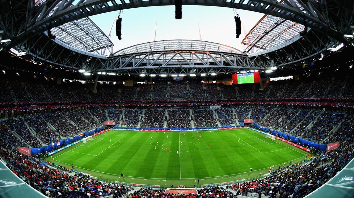 Chiêm ngưỡng những sân vận động hoành tráng đón World Cup 2018 - Bóng Đá