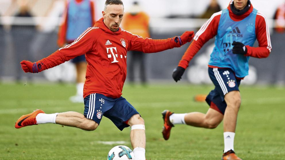 Franck Ribery chính thức trở lại và mạnh mẽ hơn xưa - Bóng Đá