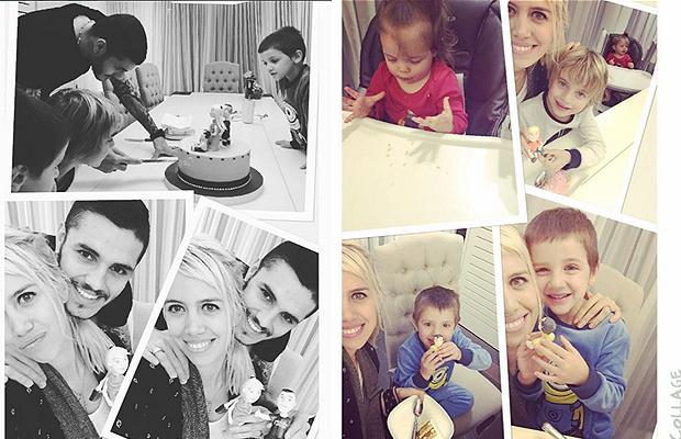 Icardi tổ chức sinh nhật ấm cúng cho vợ yêu - Bóng Đá