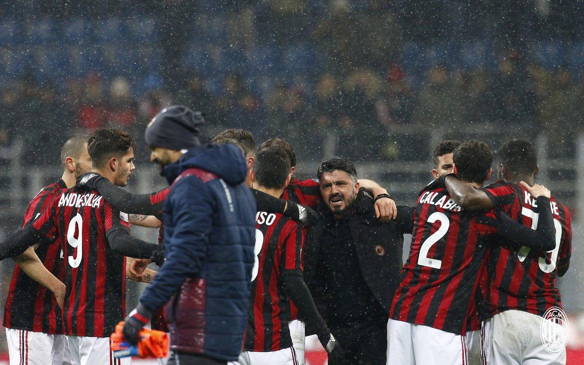 Gattuso tươi như hoa trong ngày giáng sinh đỏ của Milan - Bóng Đá