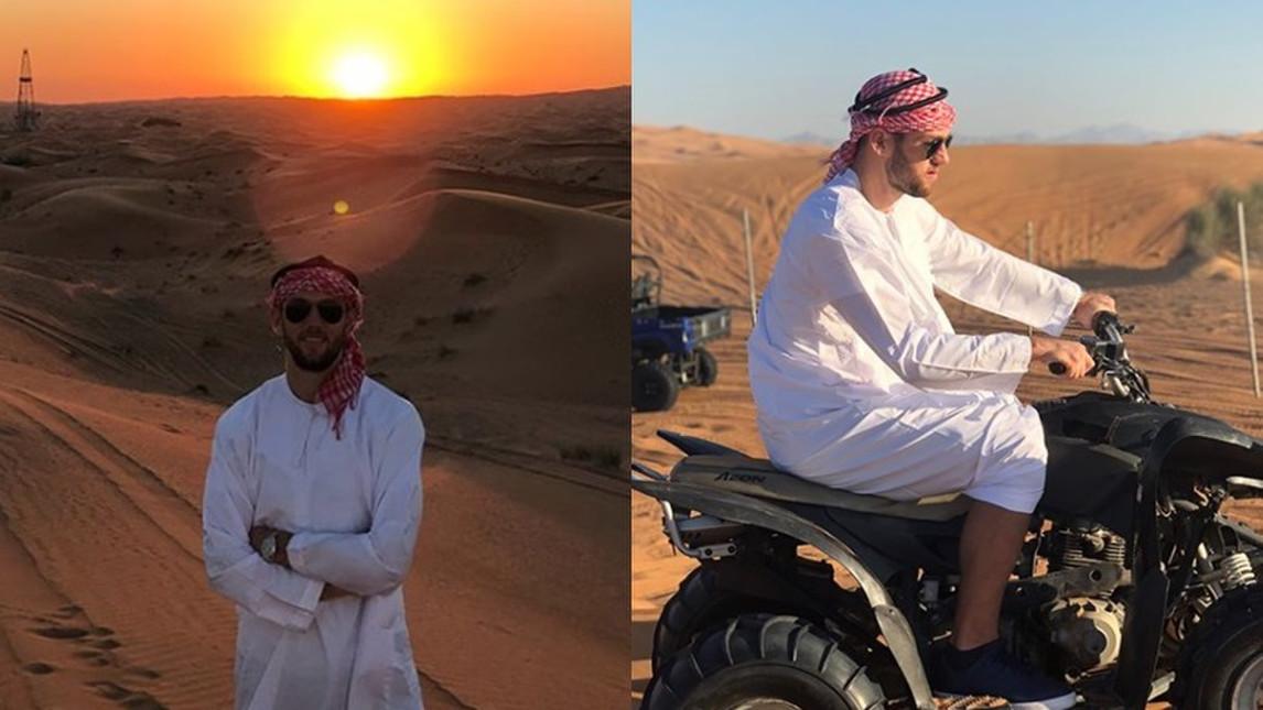 Sao Lazio hóa 'hoàng tử Hồi giáo' chinh phục sa mạc - Bóng Đá
