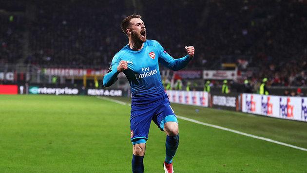 'Thần chết' Ramsey hả hê sau chiến thắng của Arsenal - Bóng Đá