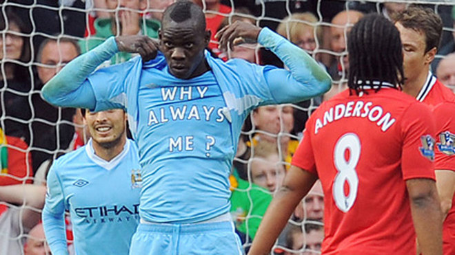 Balotelli - Derby Manchester 2011